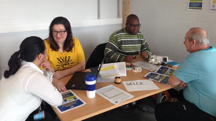 Energy Cafe: free lunch, LED bulb & advice from South East London Community Energy