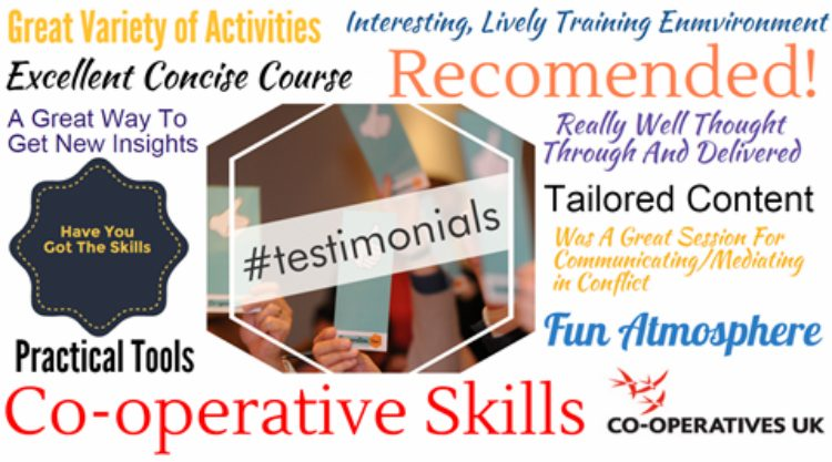 LONDON CO-OPERATIVE SKILLS SEMINAR PROGRAMME UPDATE